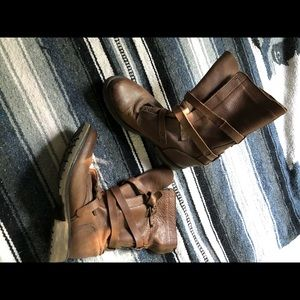 Steve Madden combat/ motorcycle boots